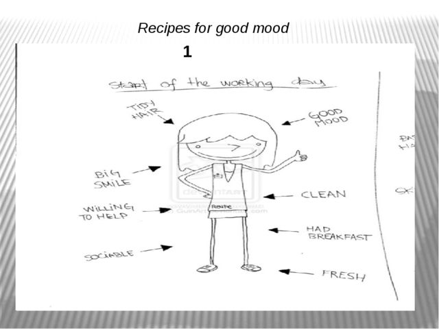 Recipes for good mood 1