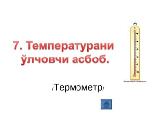 /Термометр/