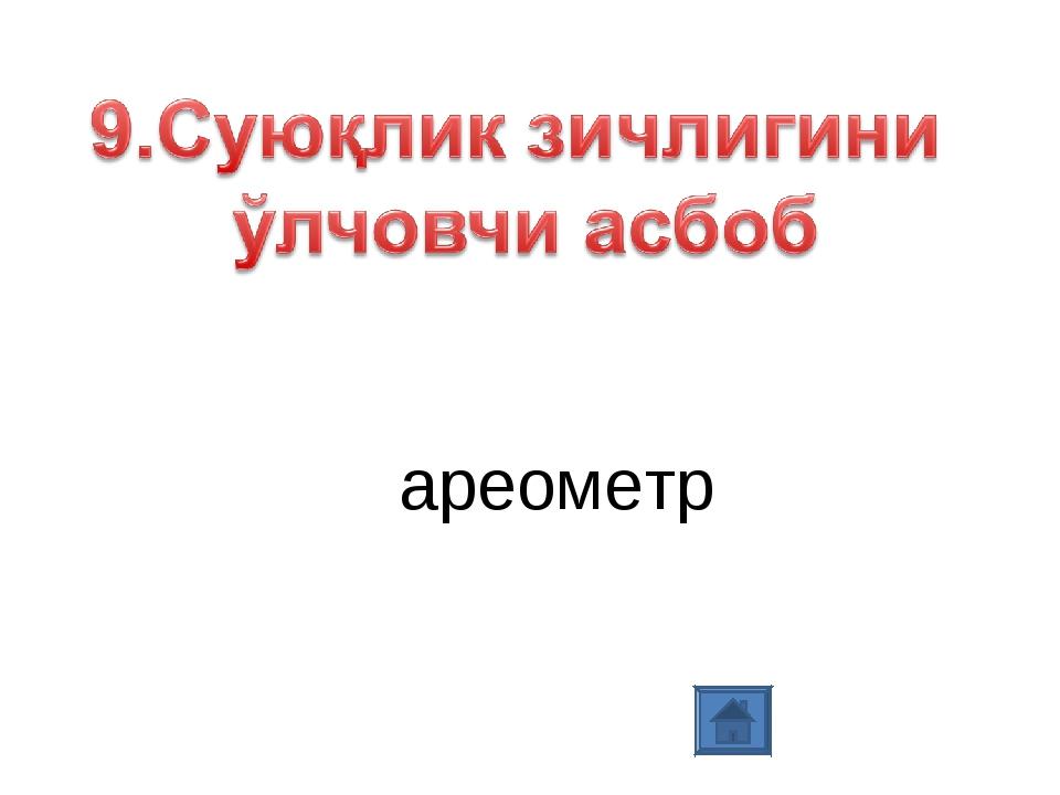 ареометр