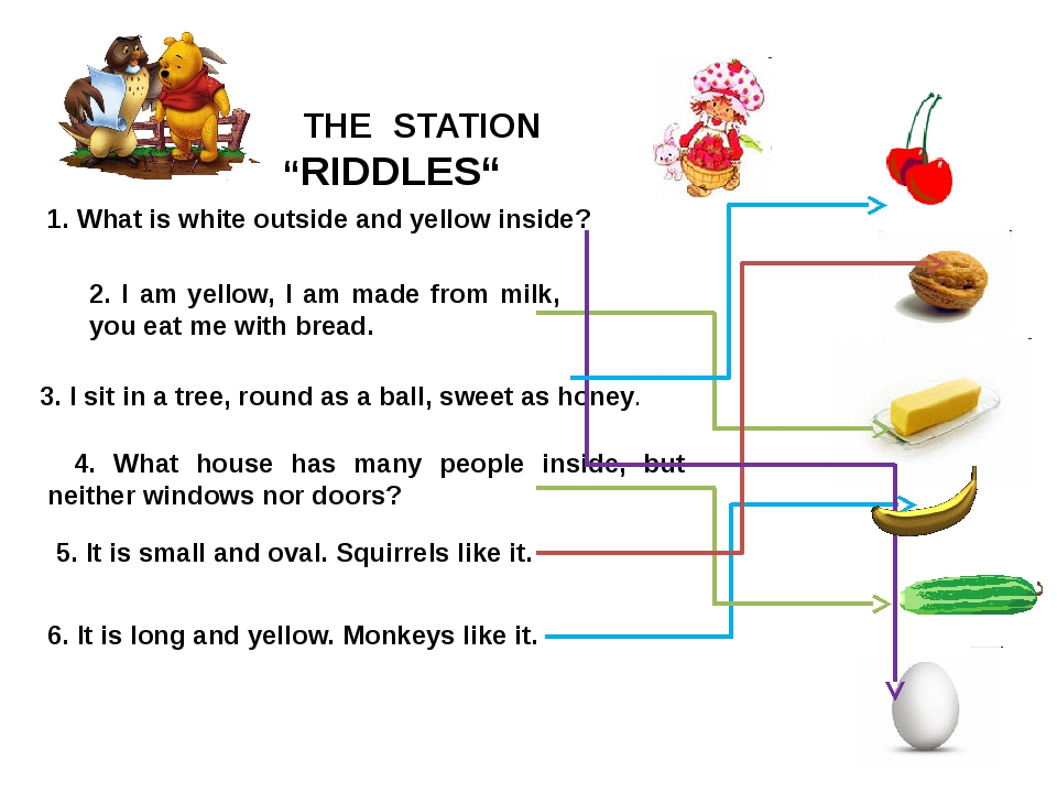 "THE STATION ""RIDDLES"" 2. I am yellow, I am made from milk, you eat me with b..."