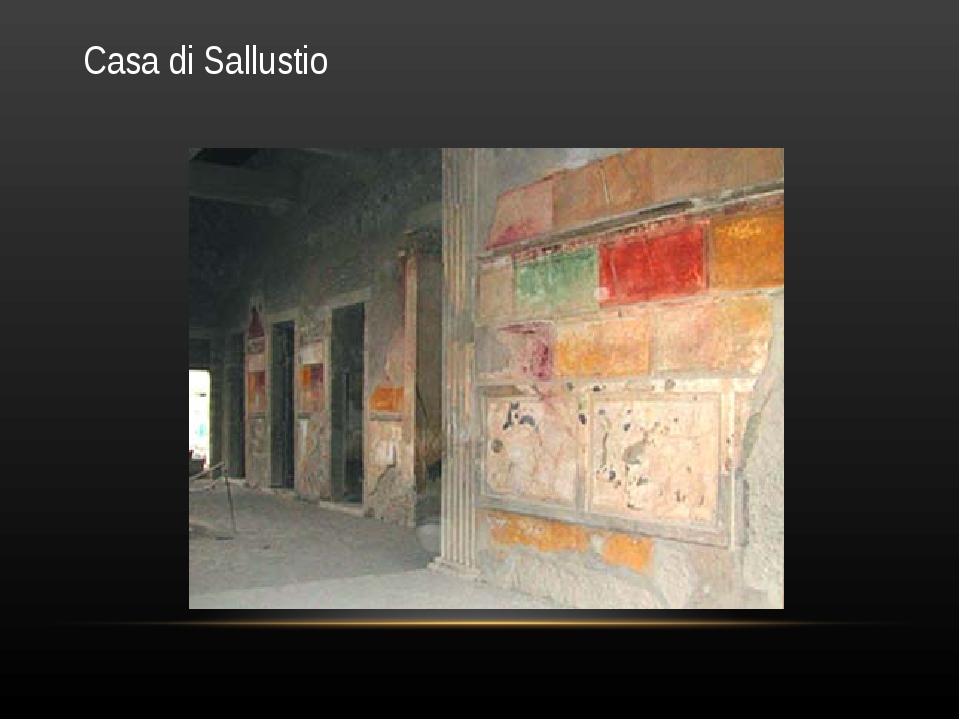 Casa di Sallustio