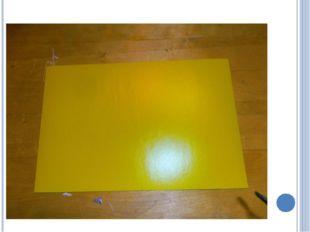 Для корзины нам понадобиться один лист картона любого цвета