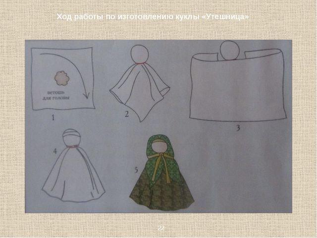 Ход работы по изготовлению куклы «Утешница» 22