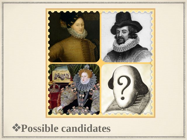 Possible candidates