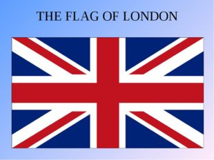 THE FLAG OF LONDON
