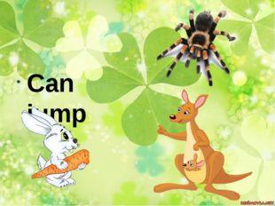 Can jump