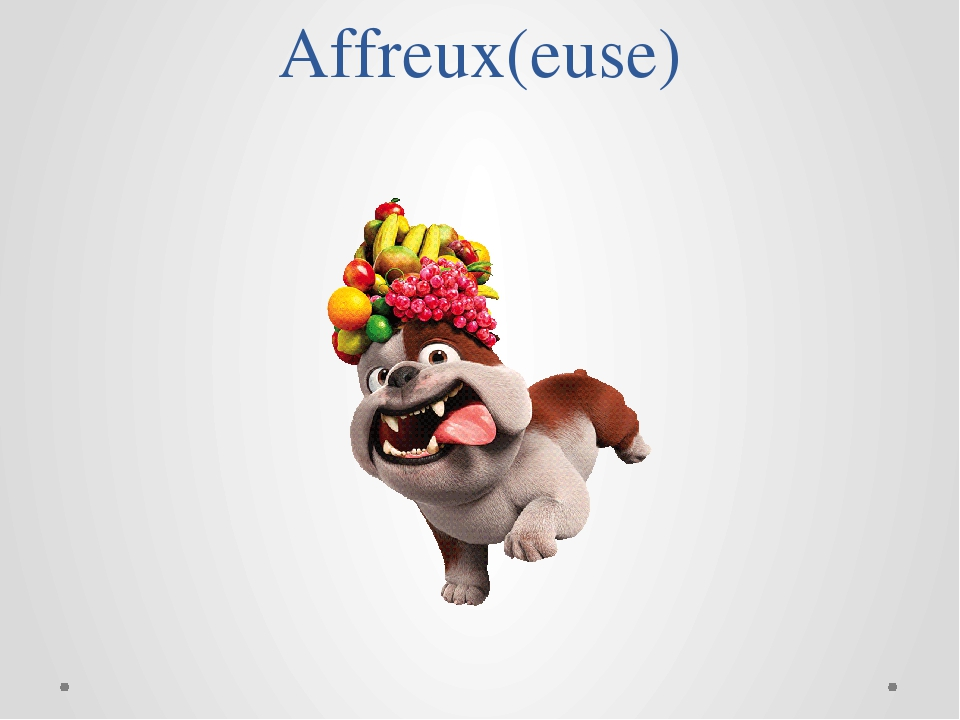 Affreux(euse)