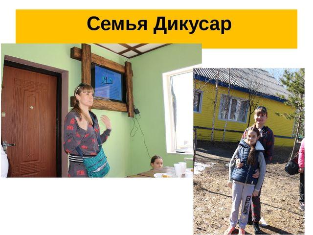 Семья Дикусар