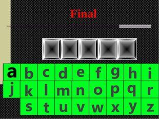I T N U P Final