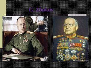 G. Zhukov