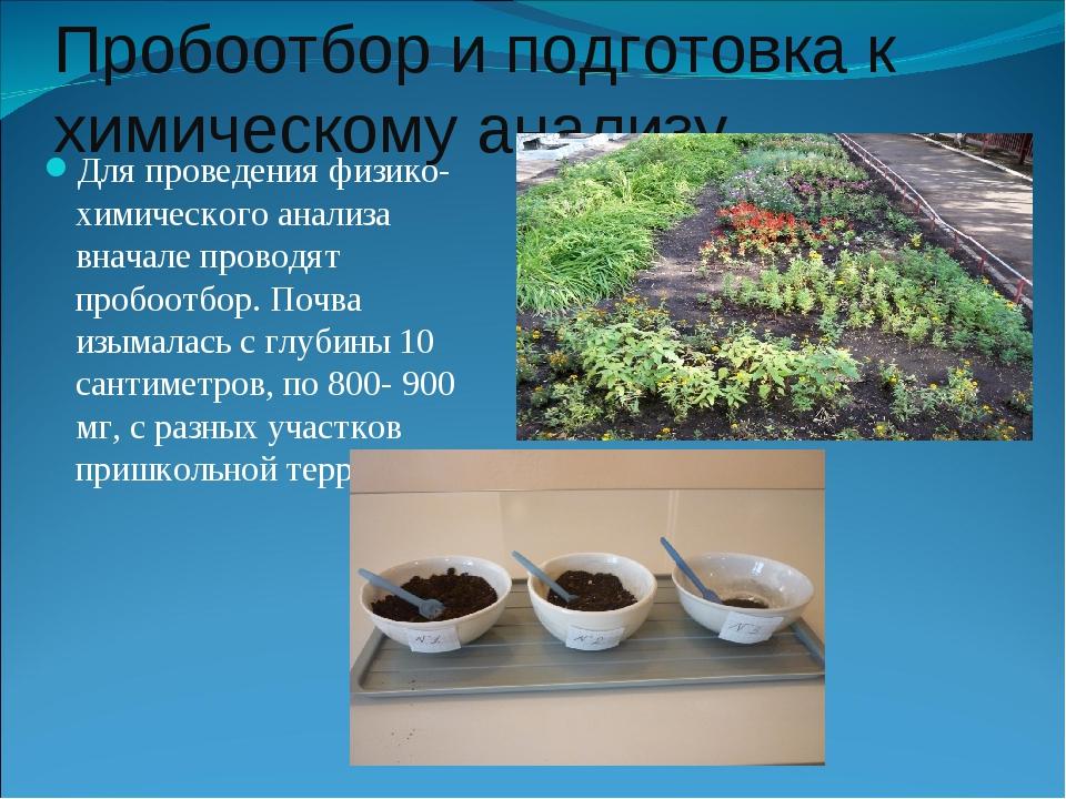 """Презентация проекта """"Химический состав почвы на пришкольном участке"""""""