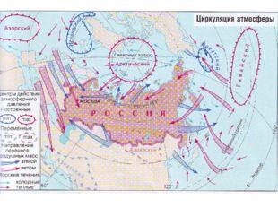 Карта с движ возд масс