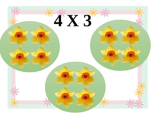 4 Х 3