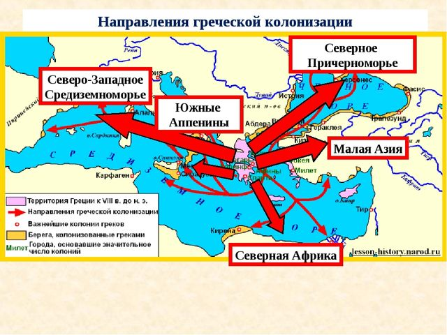 Северо-Западное Средиземноморье Северное Причерноморье Малая Азия Северная Аф...