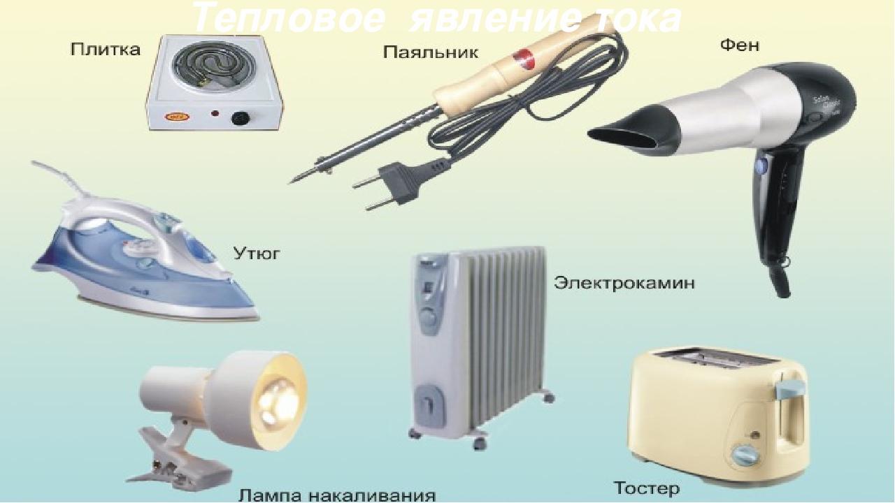Тепловое явление тока
