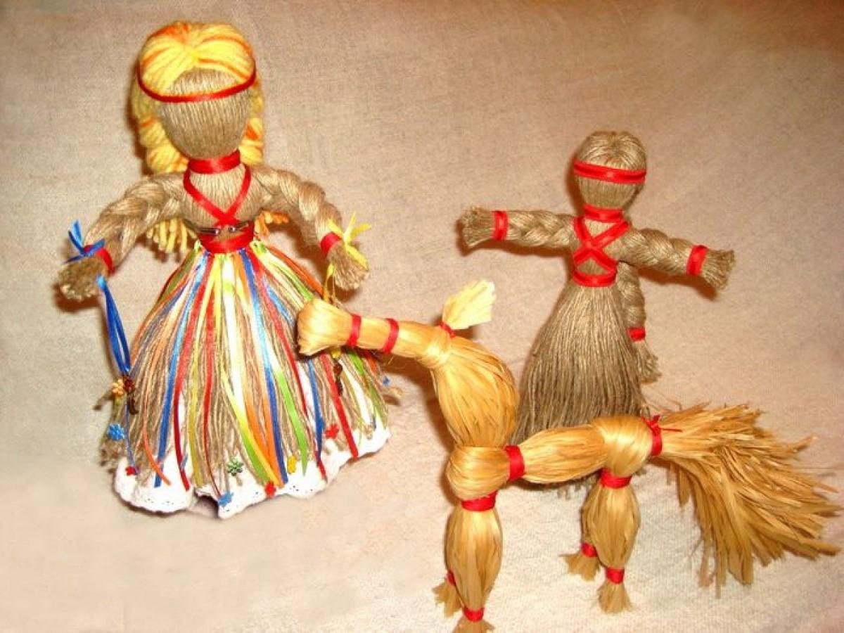 Древние русские куклы своими руками 70