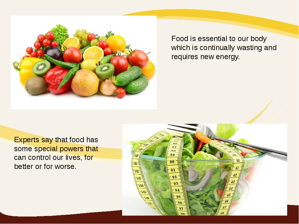 Food is essential to our body which is continually wasting and requires new e...