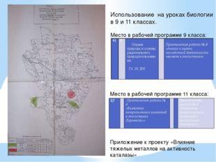 Приложение к проекту «Влияние тяжелых металлов на активность каталазы» Исполь
