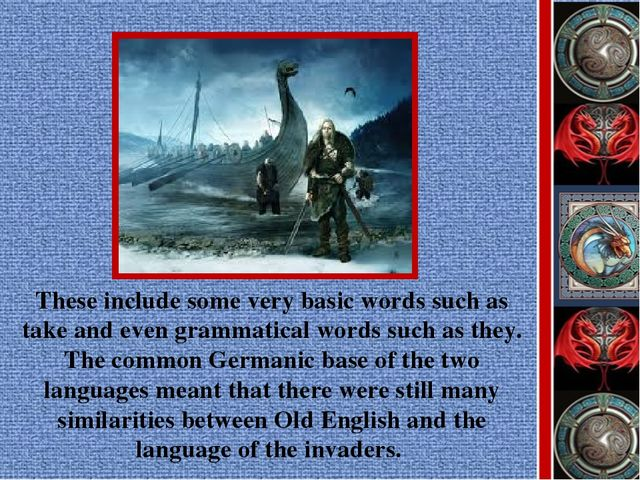 These include some very basic words such as take and even grammatical words s...
