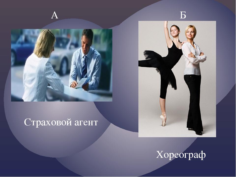 А Б Хореограф Страховой агент