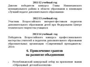 5. Результативность педагога в конкурсах профессионального мастерства различн
