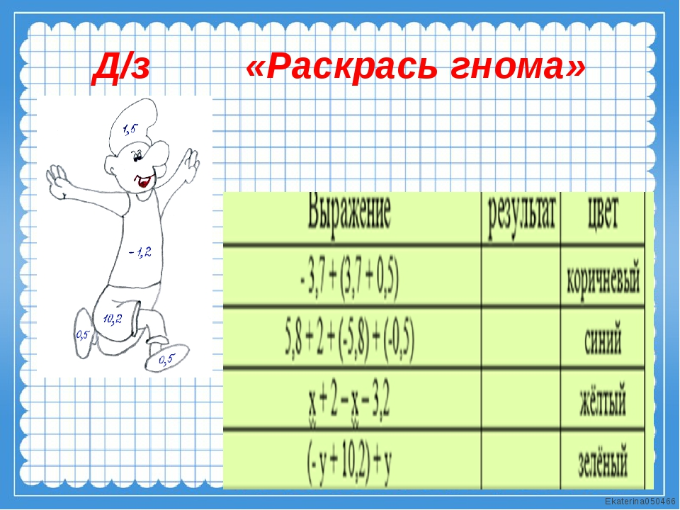 Д/з «Раскрась гнома» Ekaterina050466