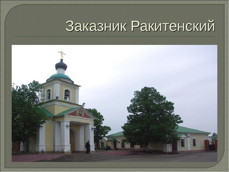Заказник Ракитенский