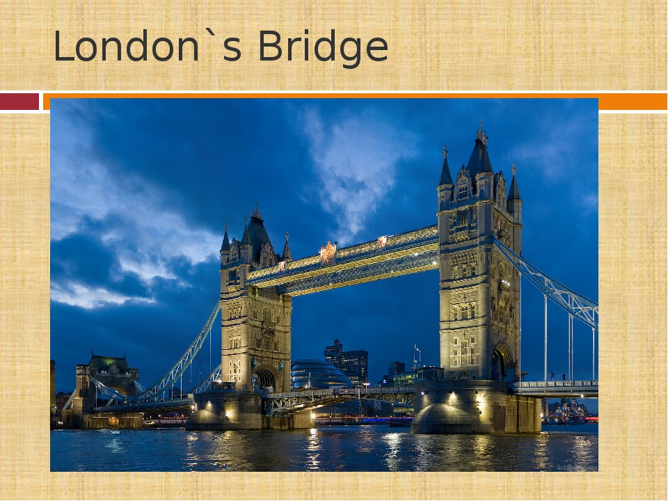 London`s Bridge