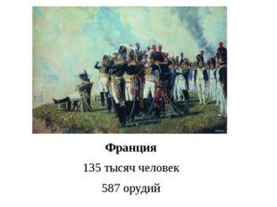 Расположение французских войск