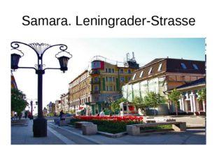 Samara. Leningrader-Strasse