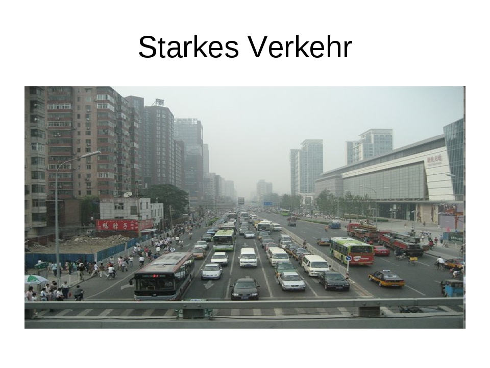 Starkes Verkehr