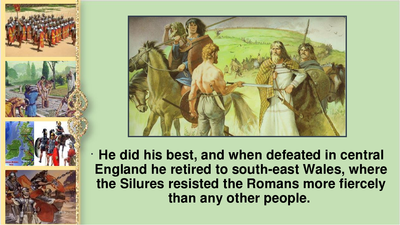 Не did his best, and when defeated in central England he retired to south-eas...