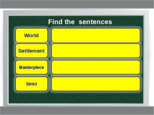 Find the sentences