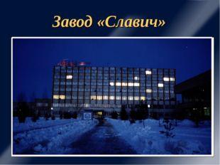 Завод «Славич»