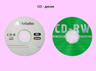 CD - диски
