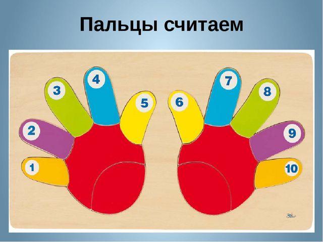 Пальцы считаем