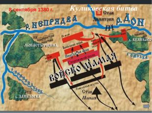 Куликовская битва Сторожевой полк