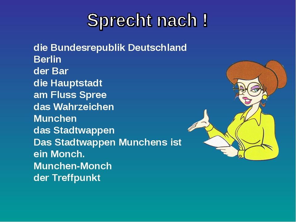 die Bundesrepublik Deutschland Berlin der Bar die Hauptstadt am Fluss Spree d...