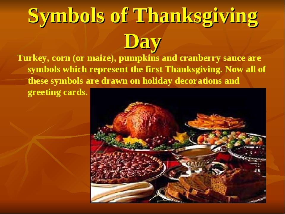 Symbols of Thanksgiving Day Turkey, corn (or maize), pumpkins and cranberry s...