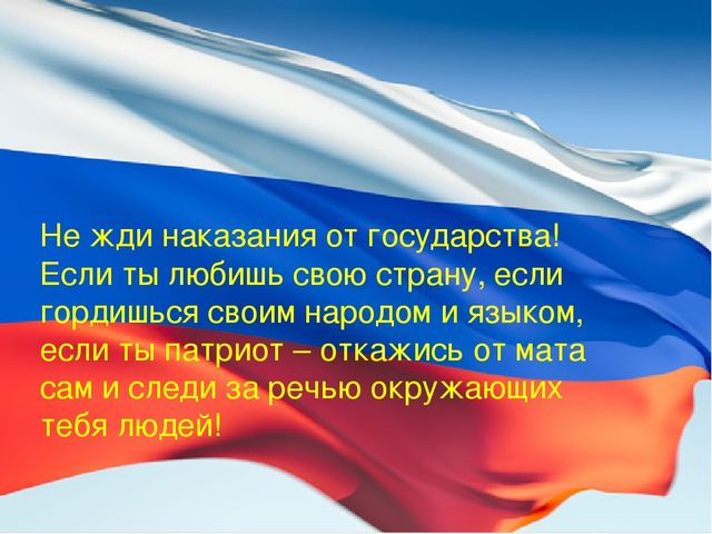 Не жди наказания от государства! Если ты любишь свою страну, если гордишься с...
