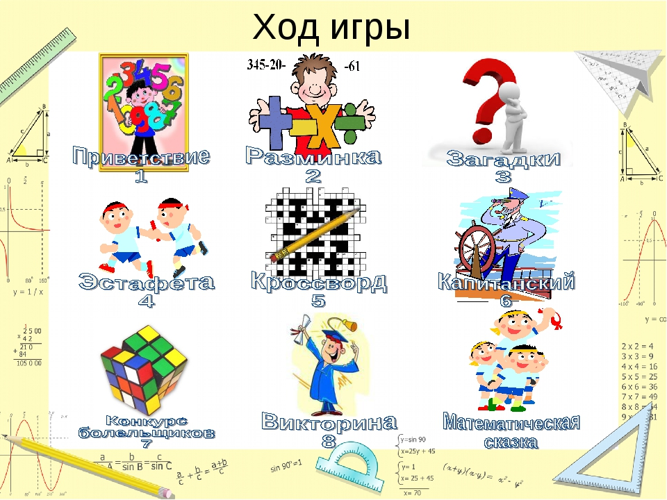 Квн по математике 3 класс программа