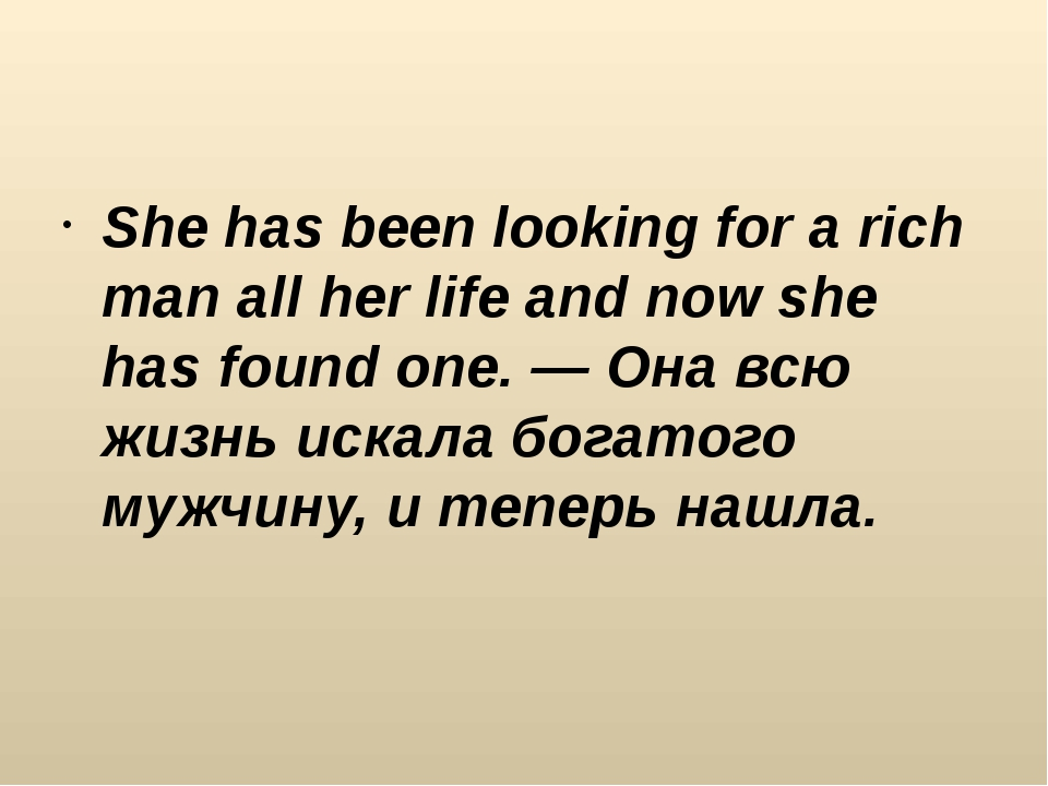 She has been looking for a rich man all her life and now she has found one....