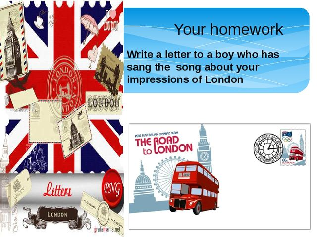 Your homework Write a letter to a boy who has sang the song about your impre...