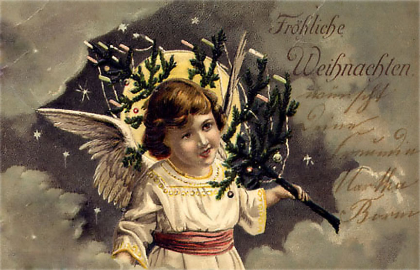 Открытки с рождеством по немецки, дарить