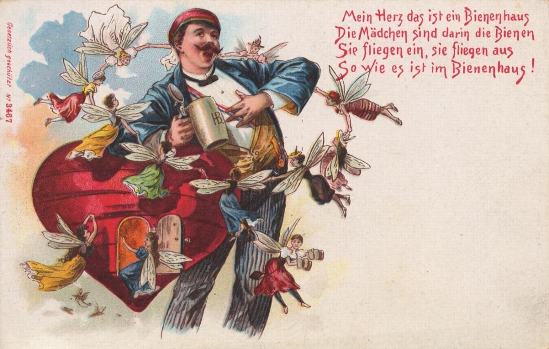 Поздравительные открытки по немецкому
