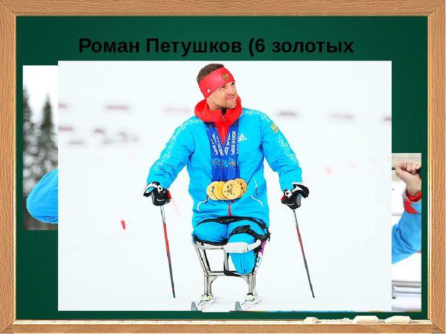 Роман Петушков (6 золотых медалей)
