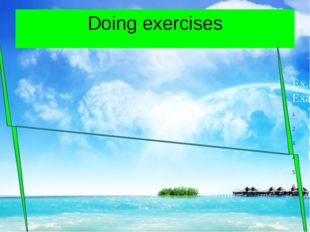 Doing exercises Ex.4,p.13 Example They are not from Britain Gabriela and Paol