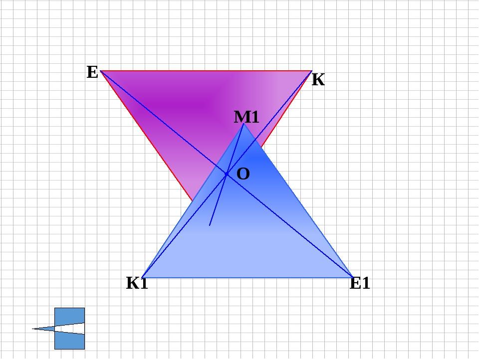 Симметрия относительно прямой В Построить отрезок А1В1, симметричный отрезку...