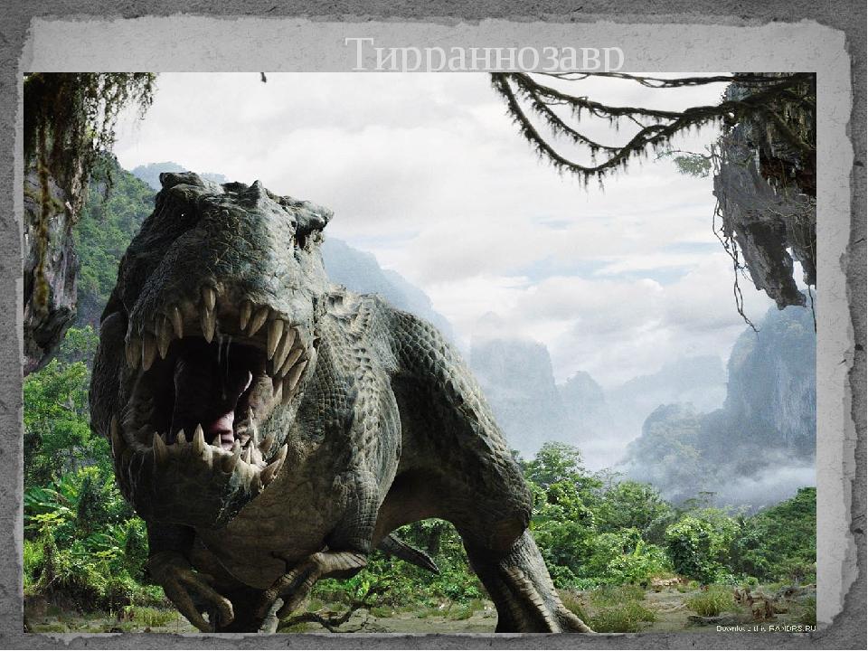 Тирраннозавр