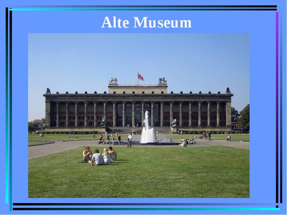 Alte Museum